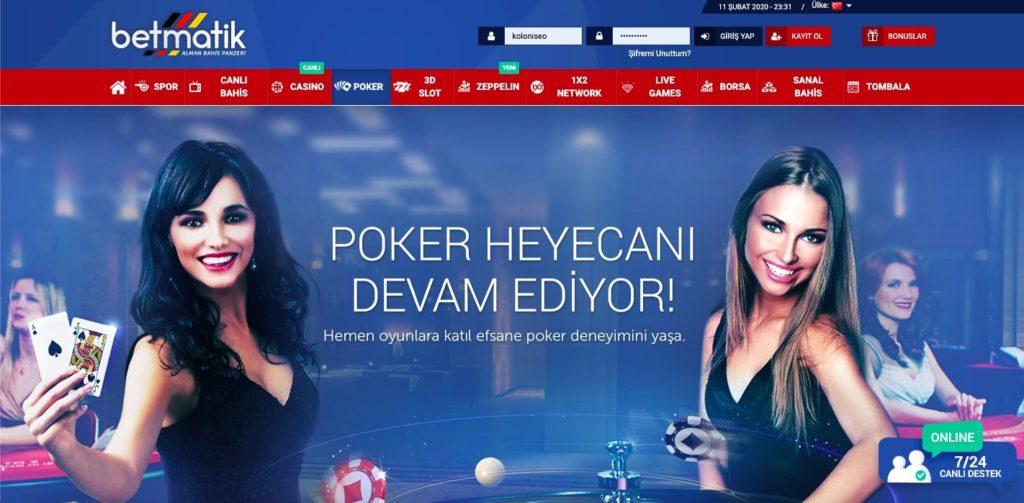 Betmatik Poker 1024x503 - Betmatik Kayıt